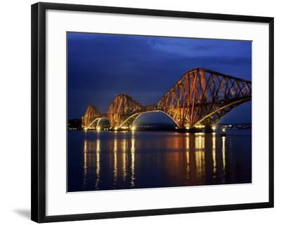 The Forth Rail Bridge crossing between Fife Canvas Art Cheap Wall Print Any Size