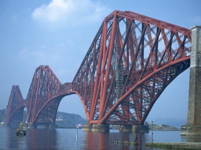 Forth Railway Bridge, Built in 1890, Firth of Forth, Scotland, United Kingdom, Europe-Waltham Tony-Photographic Print