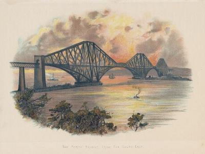 Forth Railway Bridge from the South-East, Scotland, C1895--Giclee Print