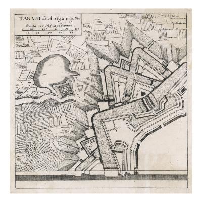 Fortifications by Vauban--Giclee Print