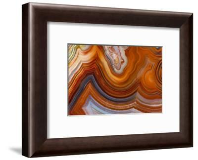 Fortifications Crazy Lace Agate-Darrell Gulin-Framed Photographic Print