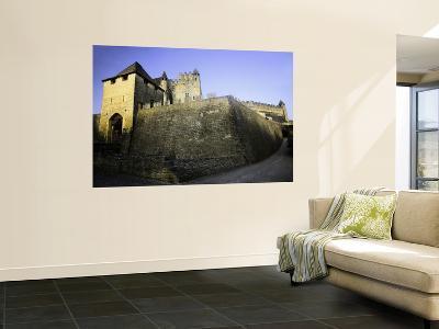 Fortified Castle Walls of Beynac-Barbara Van Zanten-Wall Mural