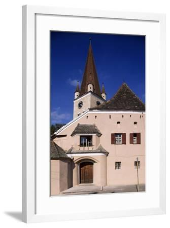 Fortified Church in Cisnadie, Romania, 13th-16th Century--Framed Giclee Print