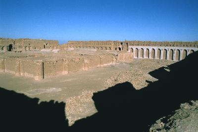 Fortress of Al Ukhaidir, Iraq, 1977-Vivienne Sharp-Photographic Print