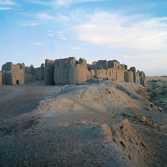Fortress of Bost (Qala-E-Bost), 11th Century, Lashkar Gah, Helmand, Afghanistan--Photographic Print