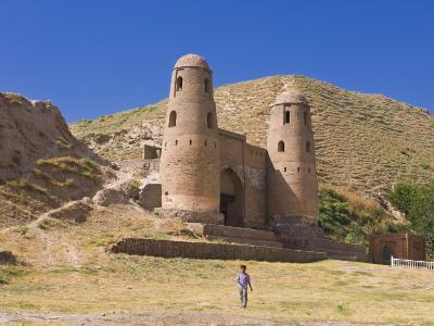 Fortress of Hissar, Tajikistan, Central Asia-Michael Runkel-Photographic Print