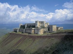 Fortress on a Hilltop, Krak Des Chevaliers, Syria