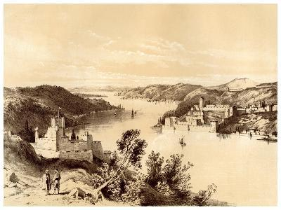 Fortresses of the Dardanelles, Turkey, 19th Century-McFarlane and Erskine-Giclee Print