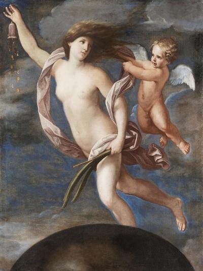 Fortuna and Cupid-Elisabetta Sirani-Giclee Print