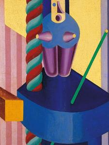 Blue Doll by Fortunato Depero