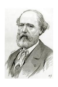 Eugène Voillet-Le-Duc by Fortune Louis Meaulle