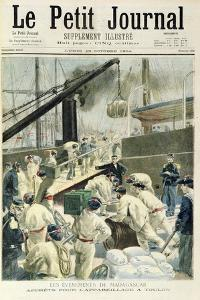 Front Page of the Illustrated Supplement of 'Le Petit Journal', 29th Ocotober 1894 by Fortune Louis Meaulle