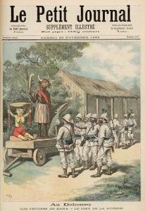 Kana Fetishes in Dahomey, from Le Petit Journal, 26th November 1892 by Fortune Louis Meaulle