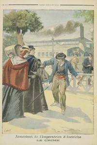 The Crime', the Assassination of Elizabeth by Fortune Louis Meaulle