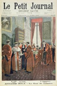Title Page Depicting the Court of Cassation with Mr. Loew by Fortune Louis Meaulle