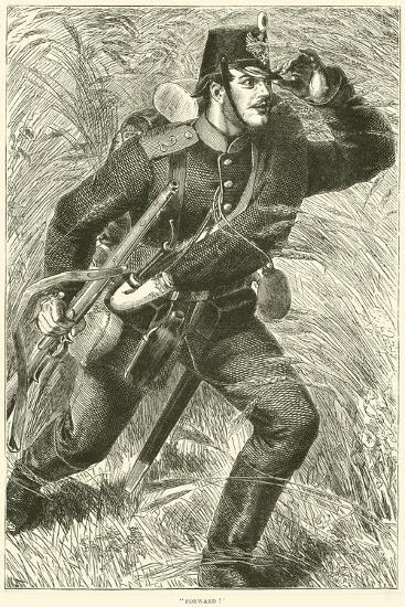 """Forward!"", October 1870--Giclee Print"