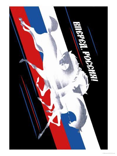 Forward, Russia!-Vladimir Sachkov-Art Print