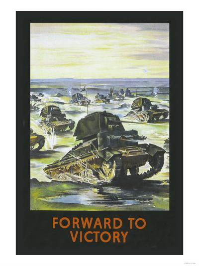 Forward to Victory--Art Print