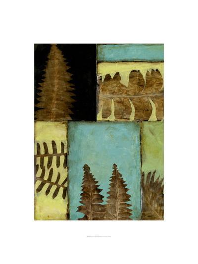 Fossilized Ferns III-Jennifer Goldberger-Premium Giclee Print