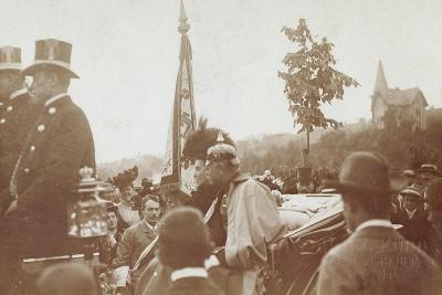 Foto Baden Baden, Pferdekutsche, Friedrich II--Giclee Print