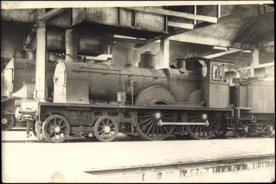 Foto Deutsche Dampflok Baden 574, Tender--Giclee Print