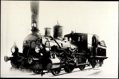 Foto Deutsche Dampflok Hochstein Nr. 138, 1890--Giclee Print