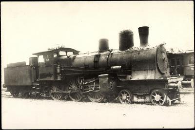 Foto Deutsche Dampflok Nr. 428, 38/1--Giclee Print
