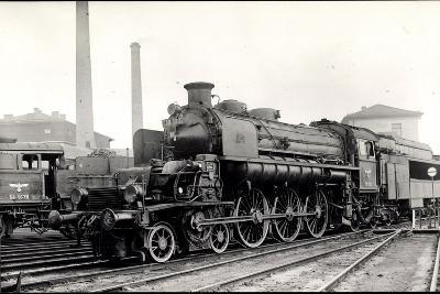 Foto Deutsche Dampflok T18 1002 U Nr. 54 1679, Tender--Giclee Print
