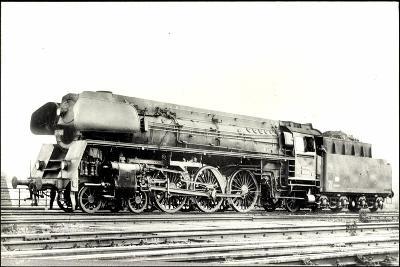Foto Deutsche Einheitslok Nr. 01 502, Tender--Giclee Print