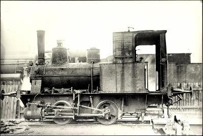 Foto Deutsche Güterzug Nr. 88 7401 Württemberg--Giclee Print