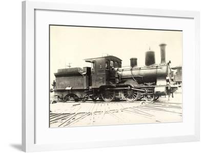 Foto Deutsche Personenlok Modell 34/81 Württemberg--Framed Giclee Print