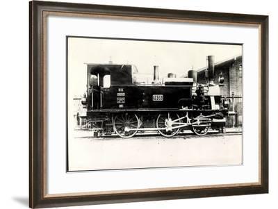 Foto Deutsche Personenlok Nr. 70 7115 Bayern--Framed Giclee Print
