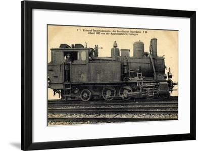Foto Deutsche Zahnradlok T 26 Preußen--Framed Giclee Print