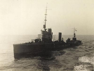 Foto Deutsches Torpedoboot V 130 Auf Hoher See--Giclee Print