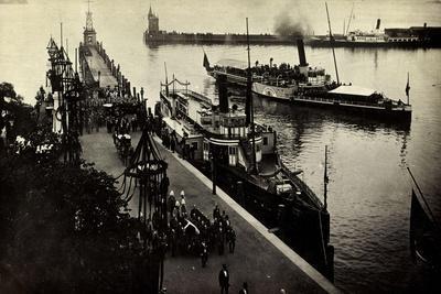 Foto Friedrich V Baden, Kaimau N. Konstanz, Bestattung--Giclee Print