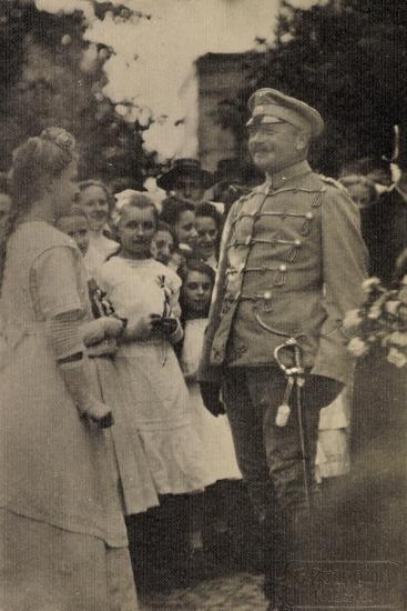 Foto König Friedrich August III, Husarenuniform--Giclee Print