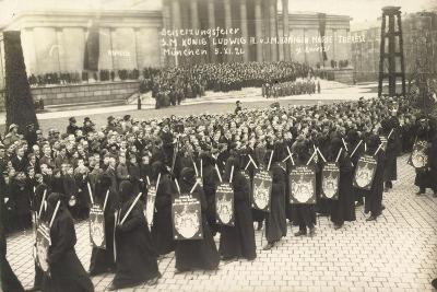 Foto München, Beisetzungsfeier, König Ludwig III--Giclee Print