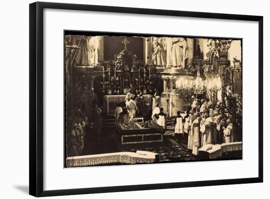 Foto Sybillenort Schlesien, Kronprinz, Kirche, Altar--Framed Giclee Print