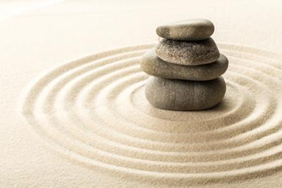 Zen Stones by fotofabrika