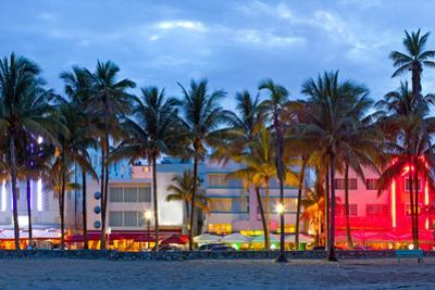 Miami Beach Florida at Sunset by Fotomak