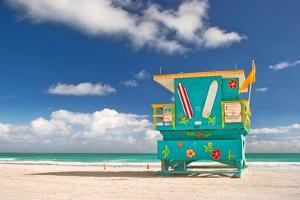 Miami Beach Florida, Lifeguard House by Fotomak