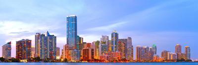 Miami Florida at Sunset by Fotomak