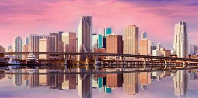 Panorama of Downtown-Miami by Fotomak