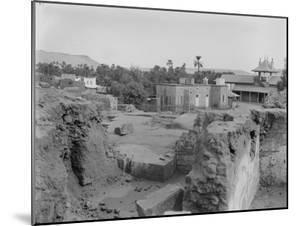 Fouilles d'Eléphantine en 1910