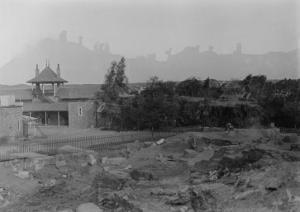 Fouilles d'Eléphantine : fouilles du temple de Satet en 1910