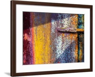 Found Art Fantasy Abstract-Steven Maxx-Framed Photographic Print