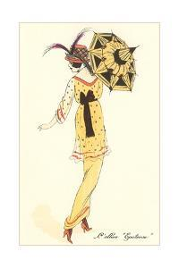 French Women's Art Deco Fashion by Found Image Press