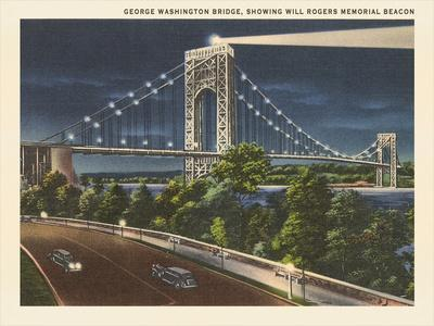 George Washington Bridge Hudson River