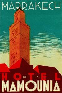 Hotel De La Mamounia by Found Image Press