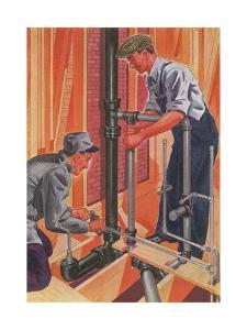 Plumbing and Pipefitting by Found Image Press